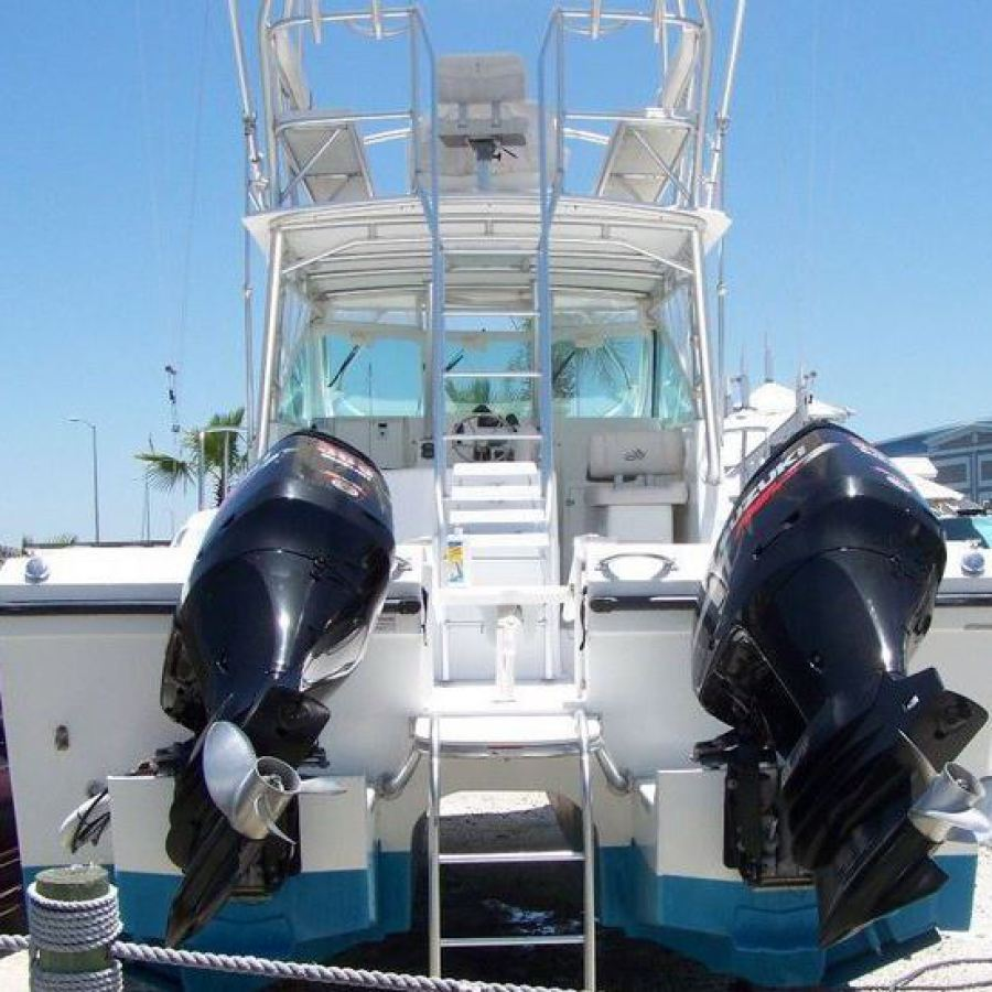2008 Baha Cruisers 340 King Cat Twin Suzuki 300 hp OB